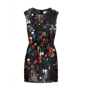 3.1 PHILLIP LIM Printed Silk Dress Size Medium